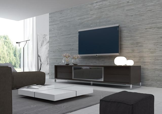 Modern Tv Stands | Houzz Regarding Most Current Trendy Tv Stands (Image 9 of 20)