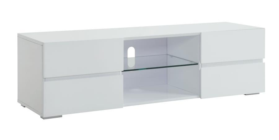 Modern Tv Stands Tv Cabinet Living Room Contemporary Dc Va Intended For Most Recently Released White Glass Tv Stands (Image 13 of 20)