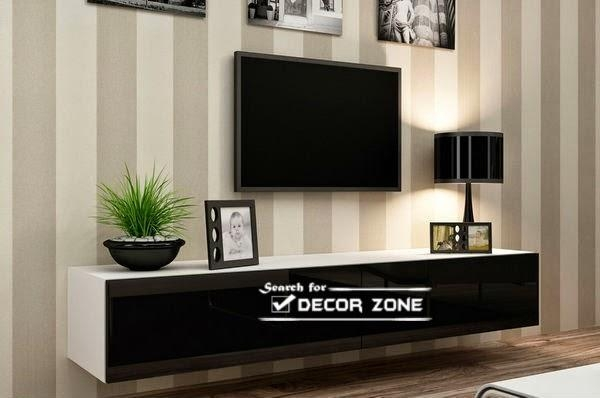Modern Tv Units: 20 Designs And Choosing Tips For Newest On The Wall Tv Units (Image 10 of 20)