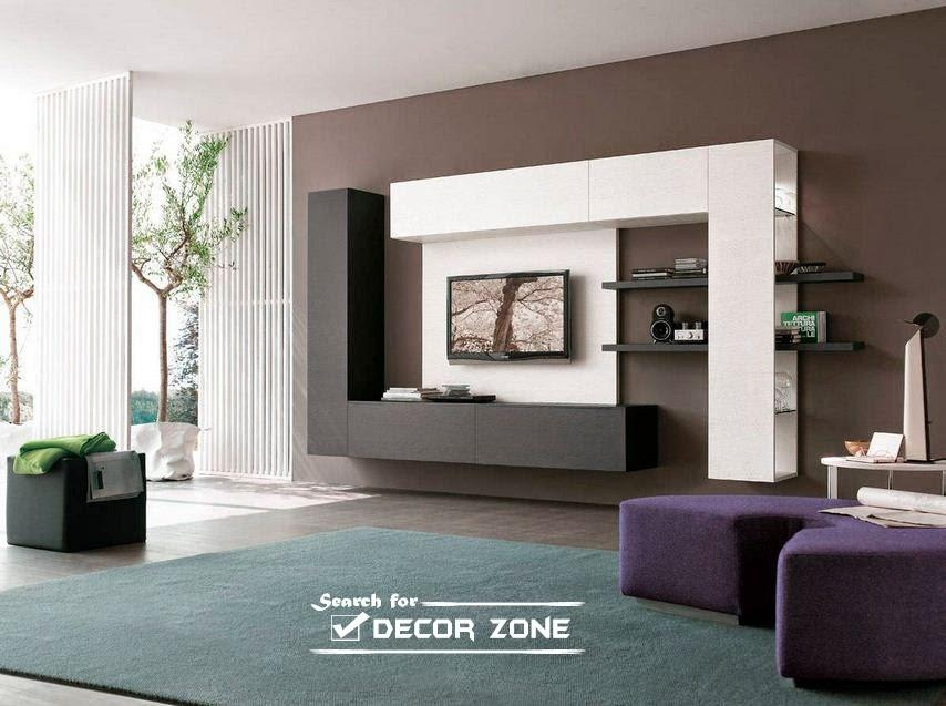 Modern Tv Units: 20 Designs And Choosing Tips Inside Most Up To Date Contemporary Tv Cabinets (Image 17 of 20)