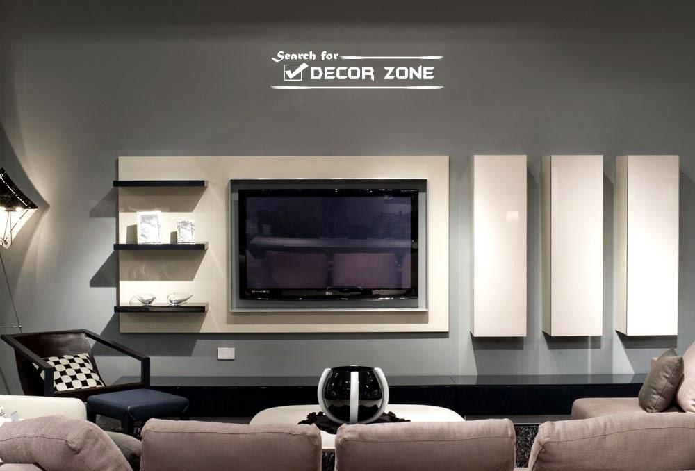 Modern Tv Units: 20 Designs And Choosing Tips Intended For Most Up To Date Contemporary Tv Wall Units (Image 16 of 20)