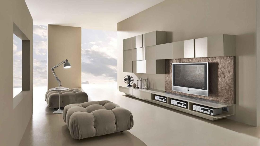 Modern Tv Wall Unit Comp (Image 17 of 20)