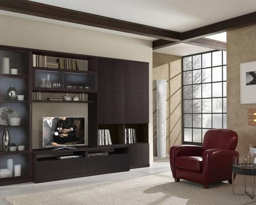 Modern Wall Units And Tv Stands Intended For Newest Wenge Tv Cabinets (Image 8 of 20)