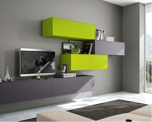 Modern Wall Units And Tv Stands With Regard To Most Recent Green Tv Stands (Image 13 of 20)