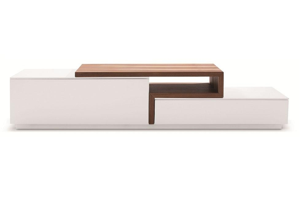 Modern Walnut Floating Tv Stand [Jm045] : Modern Euro Design With Most Current Contemporary White Tv Stands (Image 12 of 20)