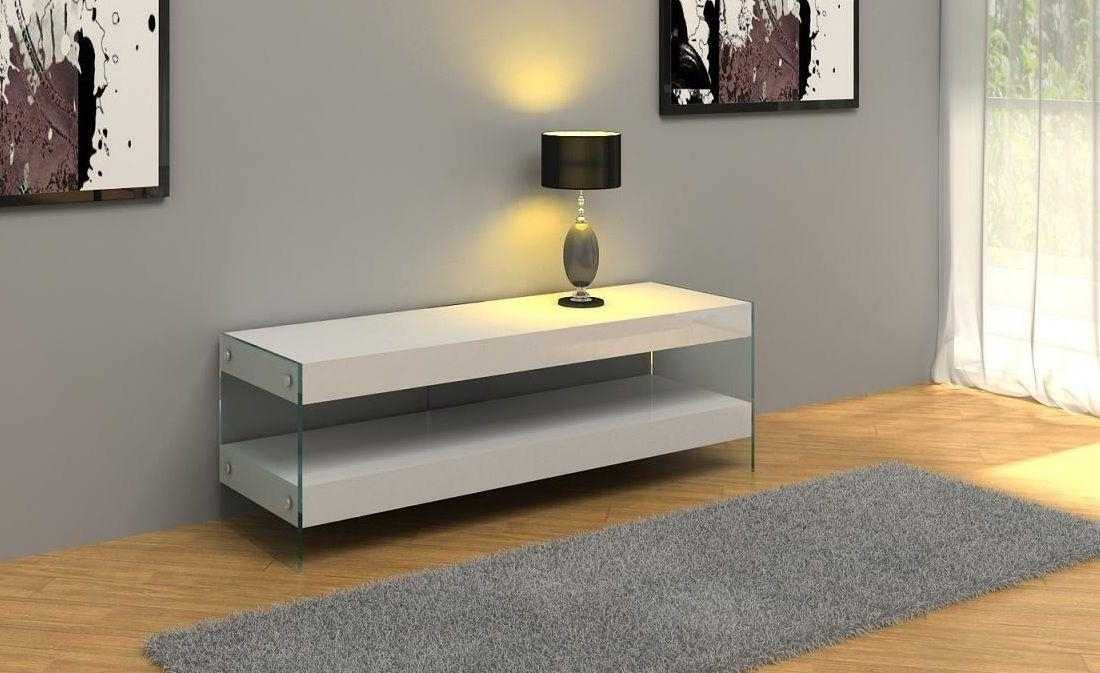Modern White Floating Tv Stand Bronx, Ny – $ (Image 12 of 20)