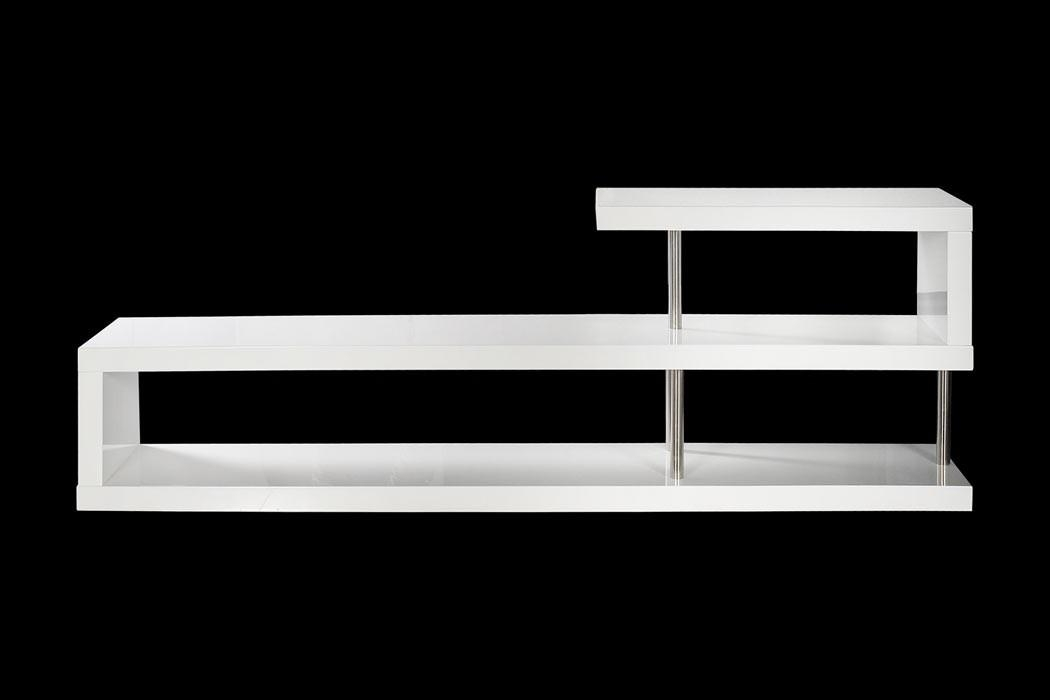 Modern White Lacquer Tv Stand In Latest Modern White Lacquer Tv Stands (Image 12 of 20)
