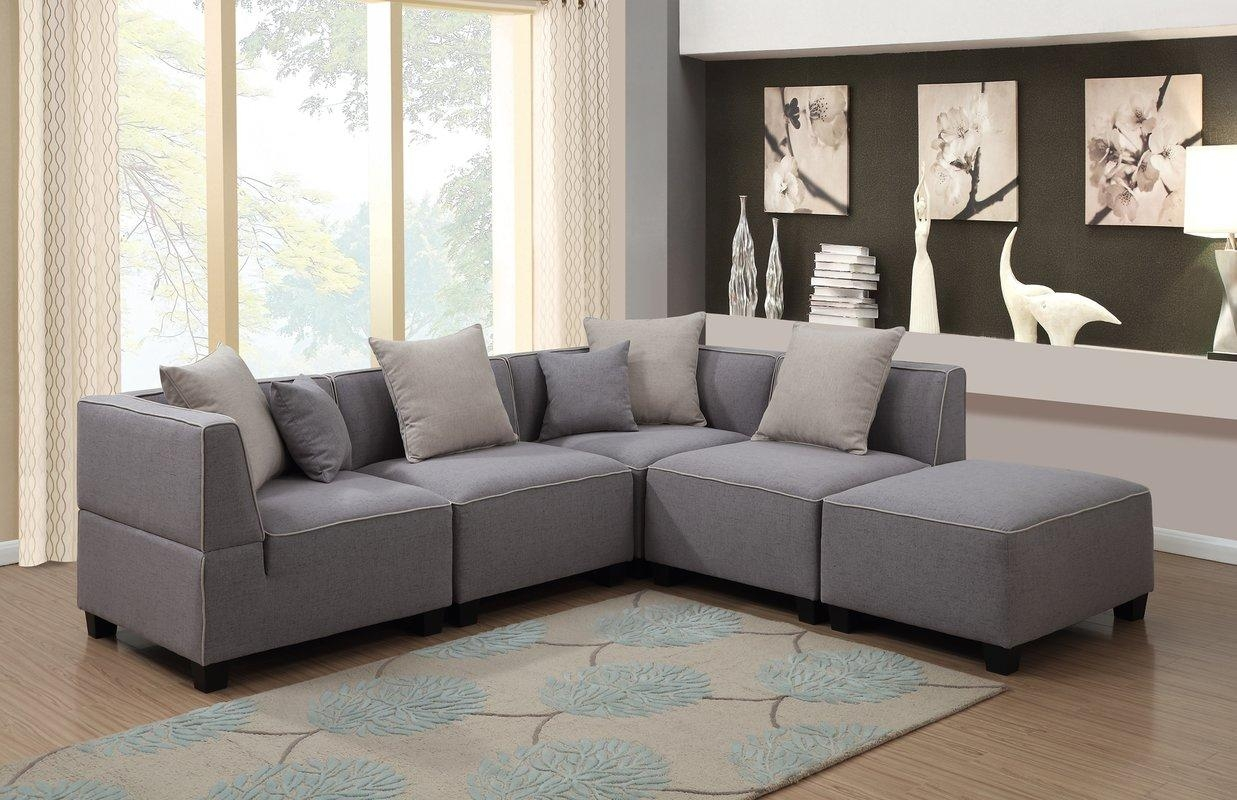Modular Sectional Sofas You'll Love | Wayfair With Regard To 6 Foot Sofas (View 21 of 22)