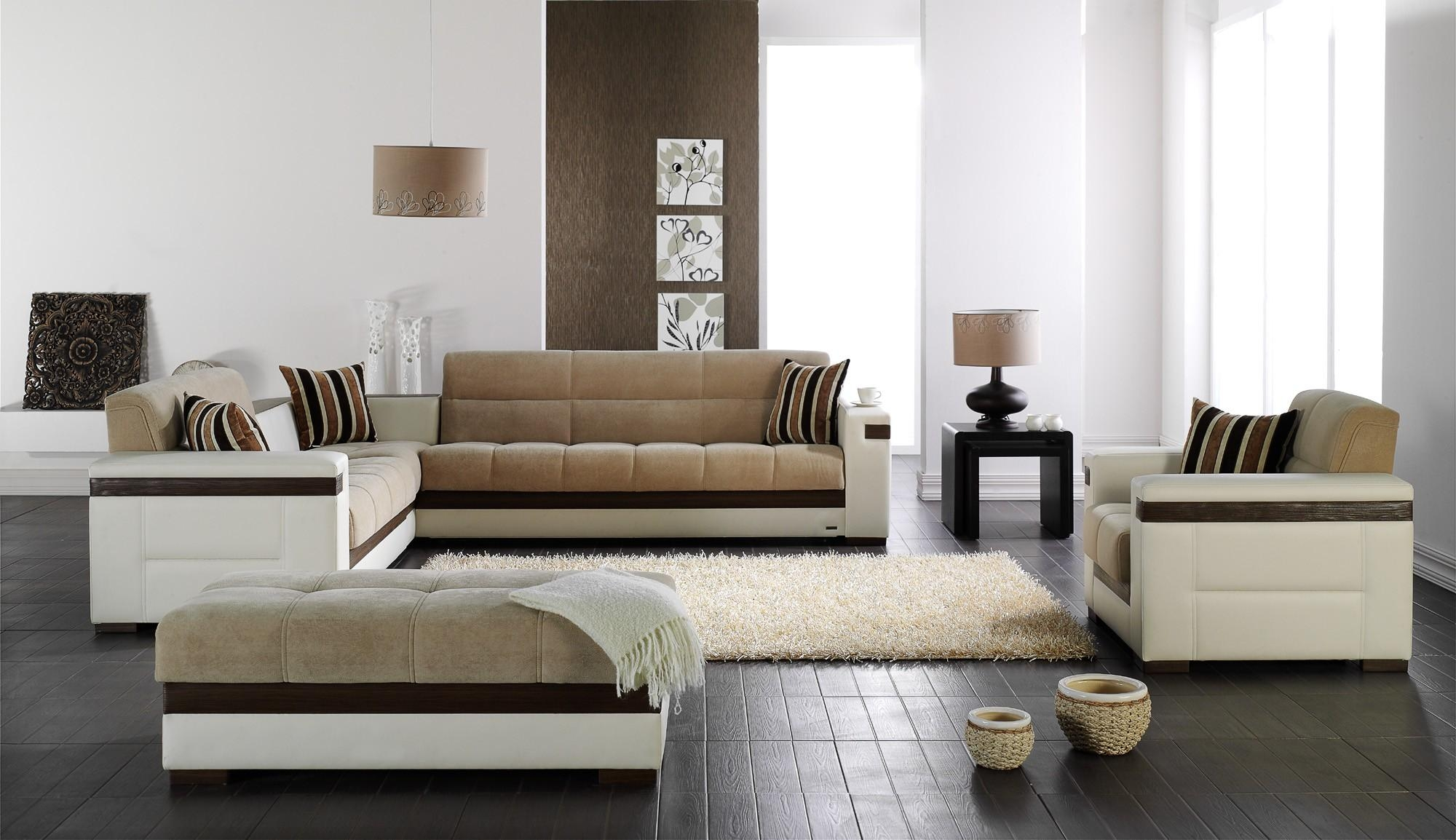 Moon Sectional Sofa Sleeper Intended For European Leather Sofas (Image 14 of 21)
