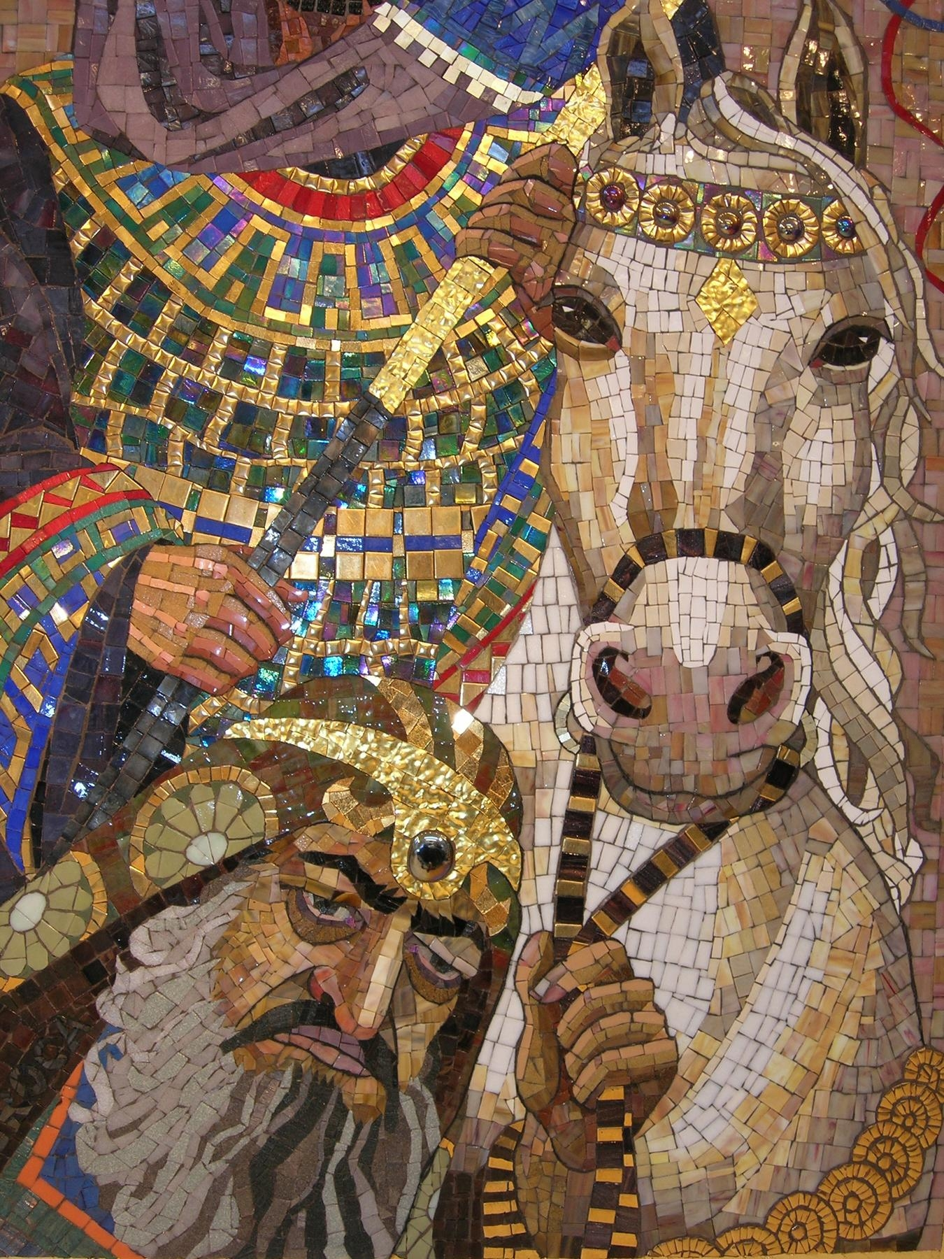 Mosaic Art Source | Inspiration For Creative Mosaic Expression… In Italian Mosaic Wall Art (Image 13 of 20)