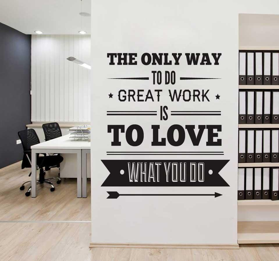 Motivational Wall Art For Office Framed A3 Size | Home Interior Inside Motivational Wall Art For Office (Image 5 of 20)