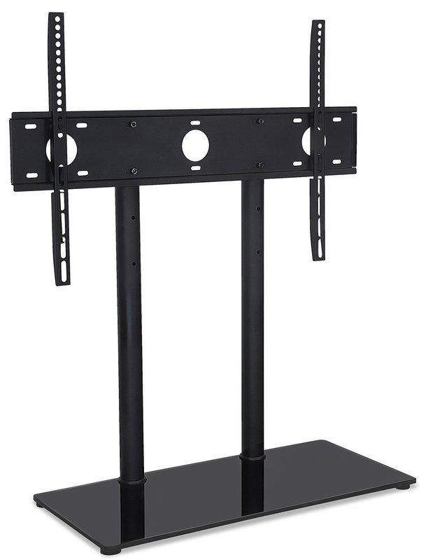 Mount It Universal Tabletop Tv Stand And Av Media Fixed Desktop Throughout Most Recently Released Tabletop Tv Stand (View 11 of 20)