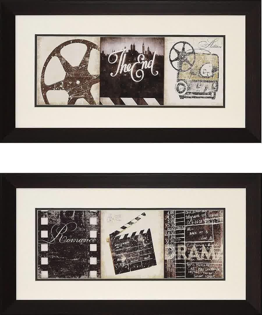 Movie Reel Wall Decor Ideas | Design Ideas And Decor With Movie Themed Wall Art (Image 11 of 20)