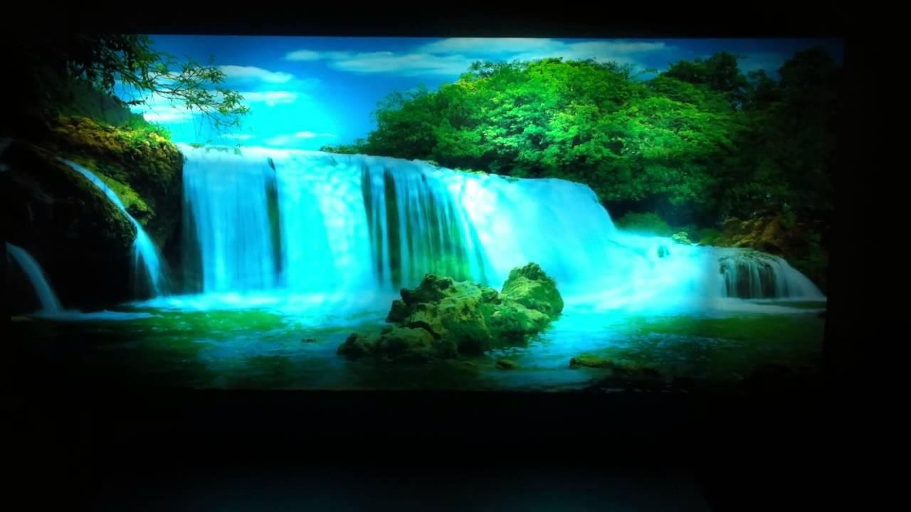 Featured Photo of Moving Waterfall Wall Art