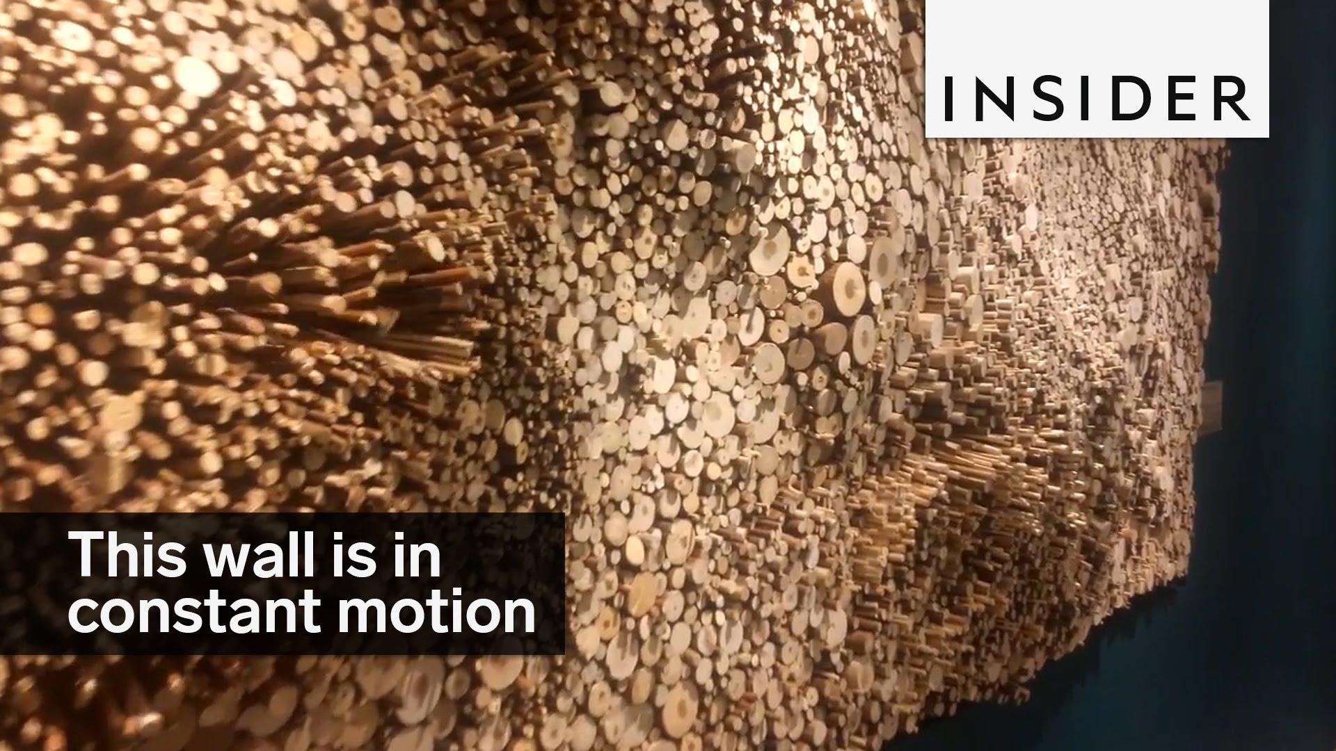 Moving Wall Sculpture – Youtube Within Kinetic Wall Art (Image 11 of 20)