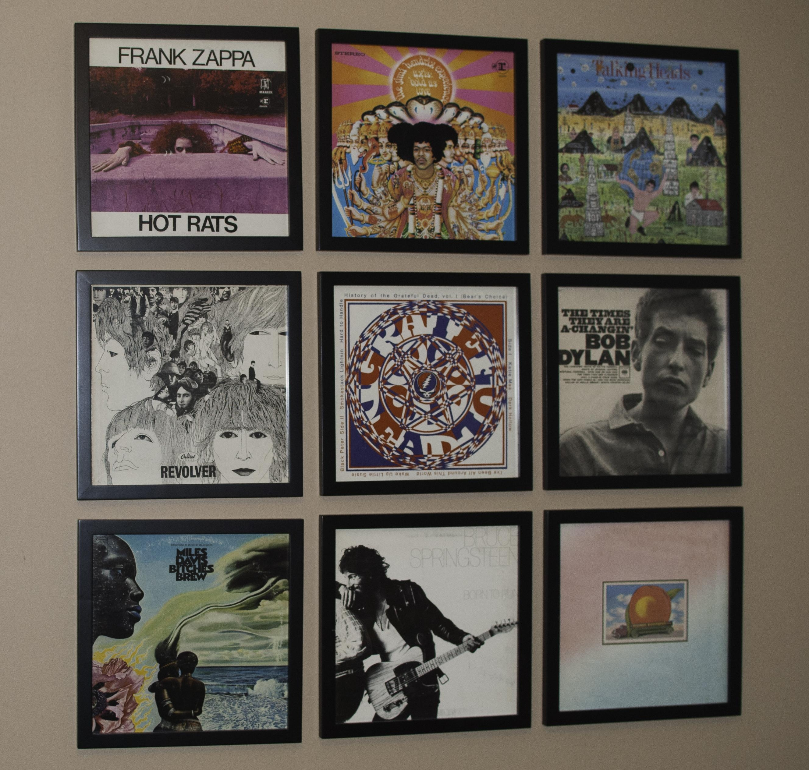 Music Monday: Record Wall – Style Sound With Album Cover Wall Art (Image 12 of 20)