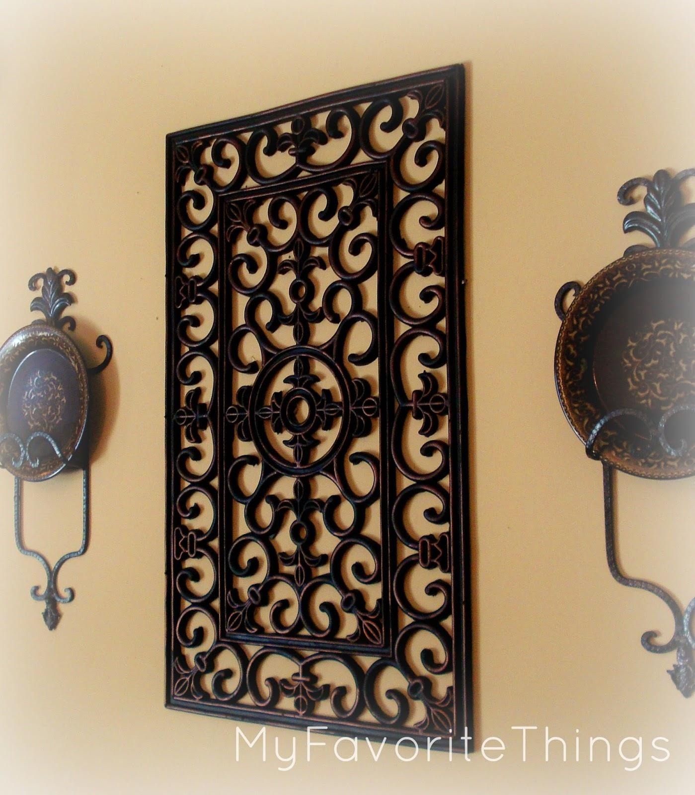 "My Favorite Things: ""wrought Iron"" Wall Art In Inexpensive Metal Wall Art (Image 16 of 20)"