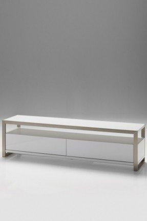 Narrow Tv Stand For Flat Screen – Foter Pertaining To 2017 White Oval Tv Stands (Image 13 of 20)