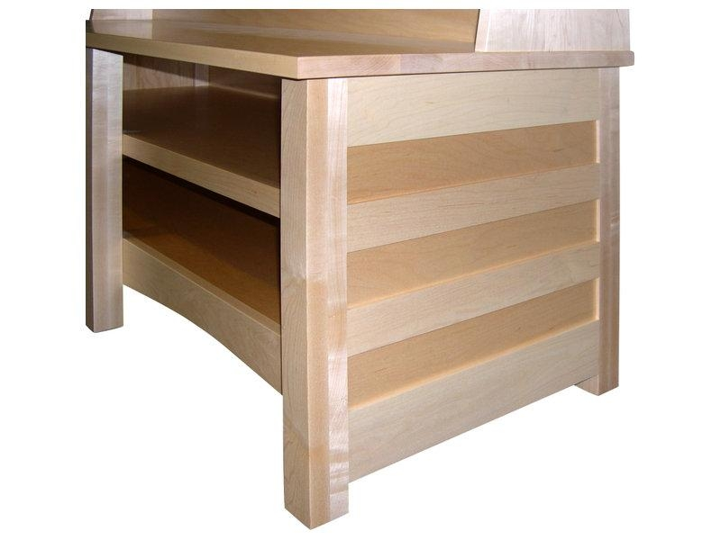 Natural Maple Clarks Mission Tv Stand | Amish Clarks Tv Stand Throughout 2017 Maple Tv Stands For Flat Screens (Image 10 of 20)