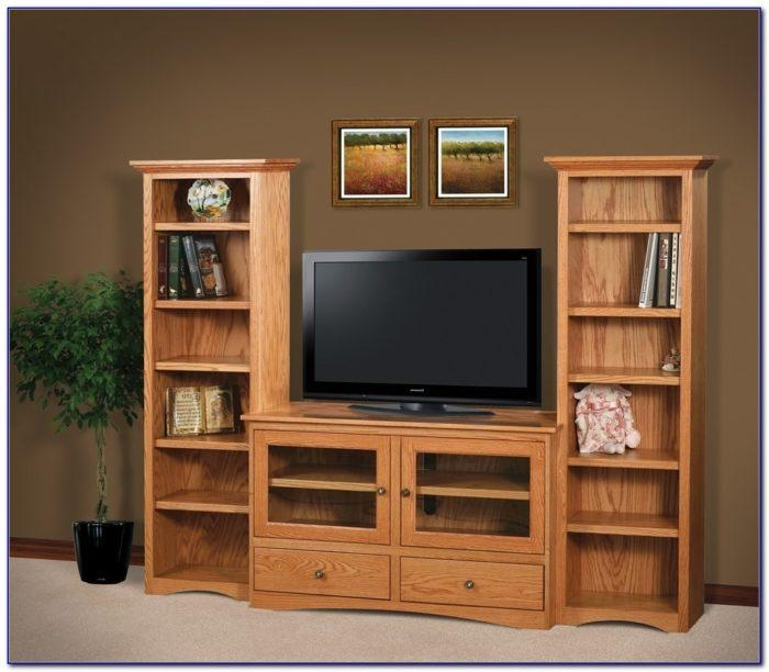 New Living Rooms : Tv Stand Bookcase Combo Pertaining To Present Pertaining To Most Popular Tv Stands With Bookcases (View 18 of 20)