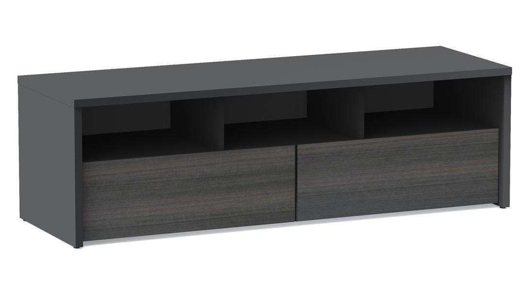 Nexera Sereni T 60 Inch 2 Drawer Tv Stand Nx 210406 At Homelement Throughout Most Recent Nexera Tv Stands (View 5 of 20)