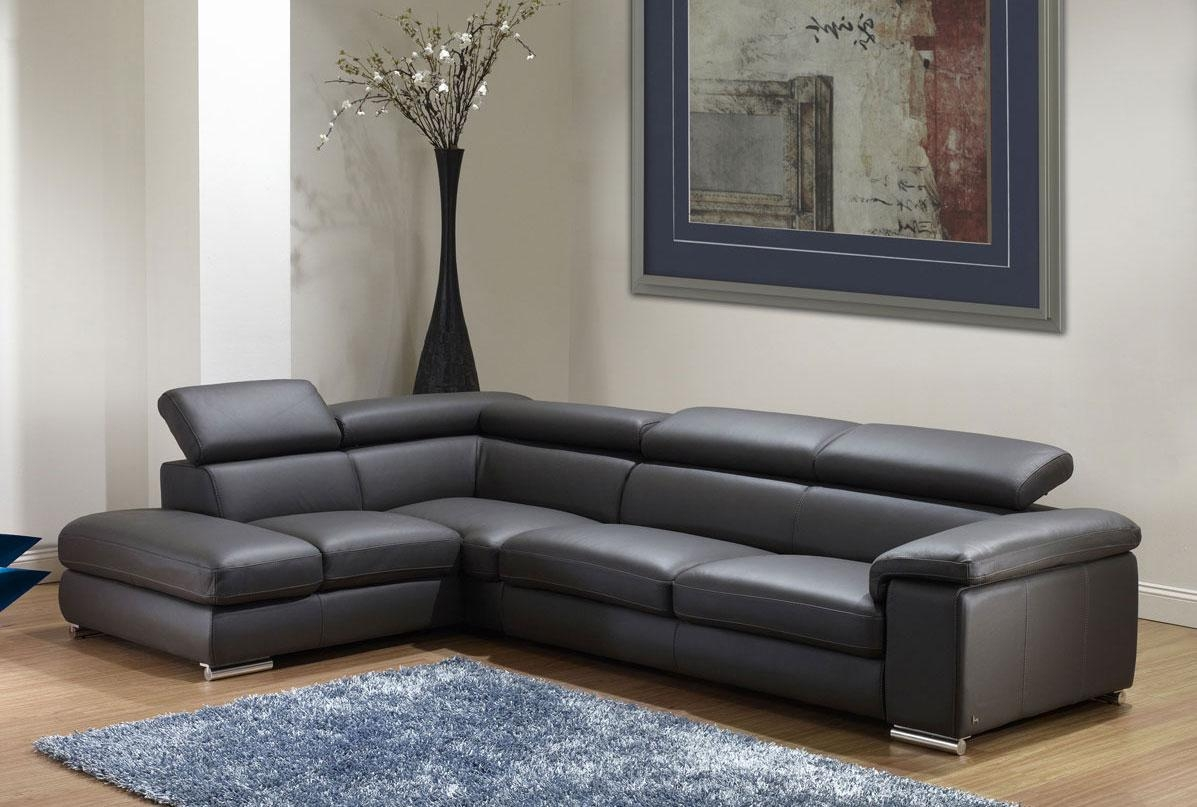 Nicoletti Angel Leather Sectional Sofa | Leather Sectionals Throughout Leather Sofa Sectionals For Sale (Image 13 of 20)