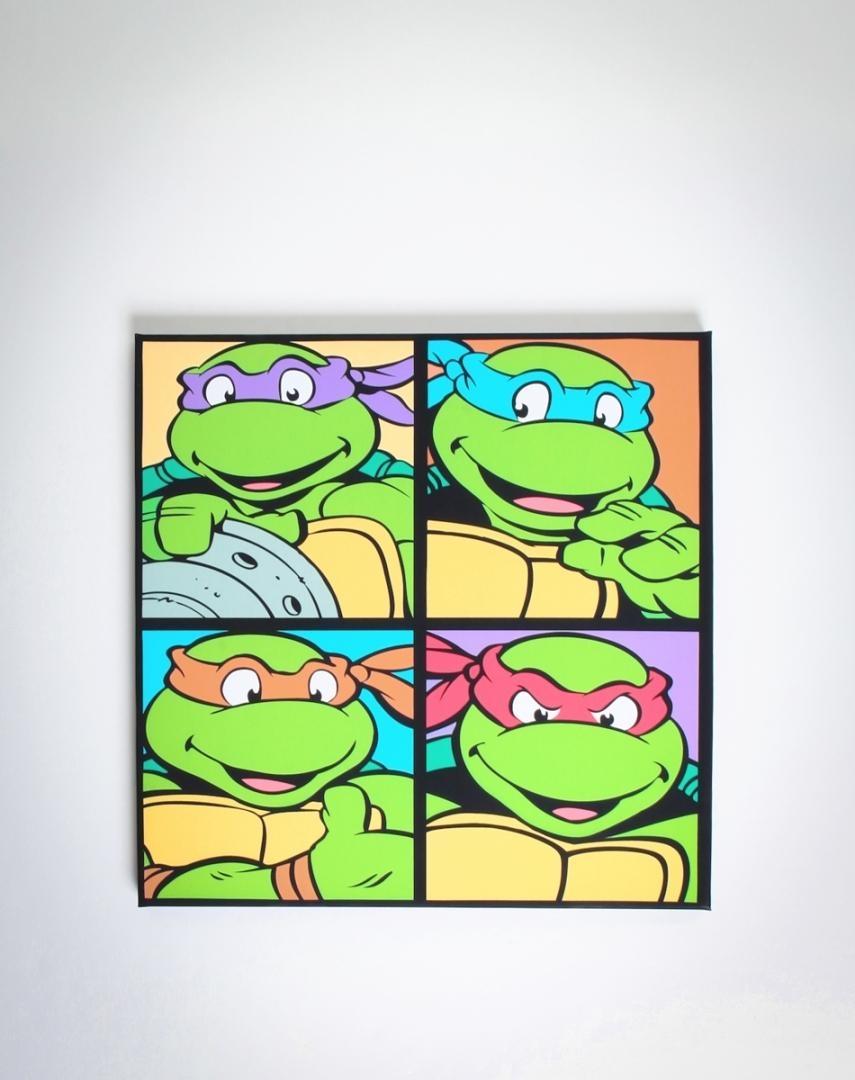 Ninja Turtles Canvas! $ (View 3 of 20)