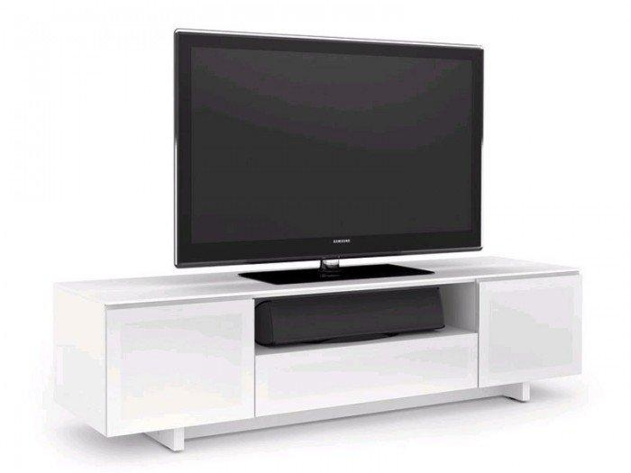 Nora 8239 Gloss White Tv Cabinet Pertaining To Recent White Tv Cabinets (Image 11 of 20)