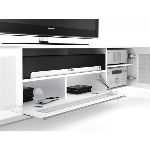 Nora 8239 Tv Stand, Bdi – Italmoda Furniture Store With Most Recently Released Sonos Tv Stands (Image 13 of 20)