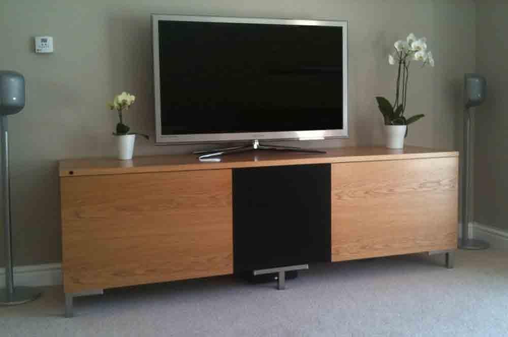 Oak Av Furniture, Oak Av Cabinets, Oak Tv Stands, Oak Media Wall Inside Current Oak Tv Cabinets (View 15 of 20)