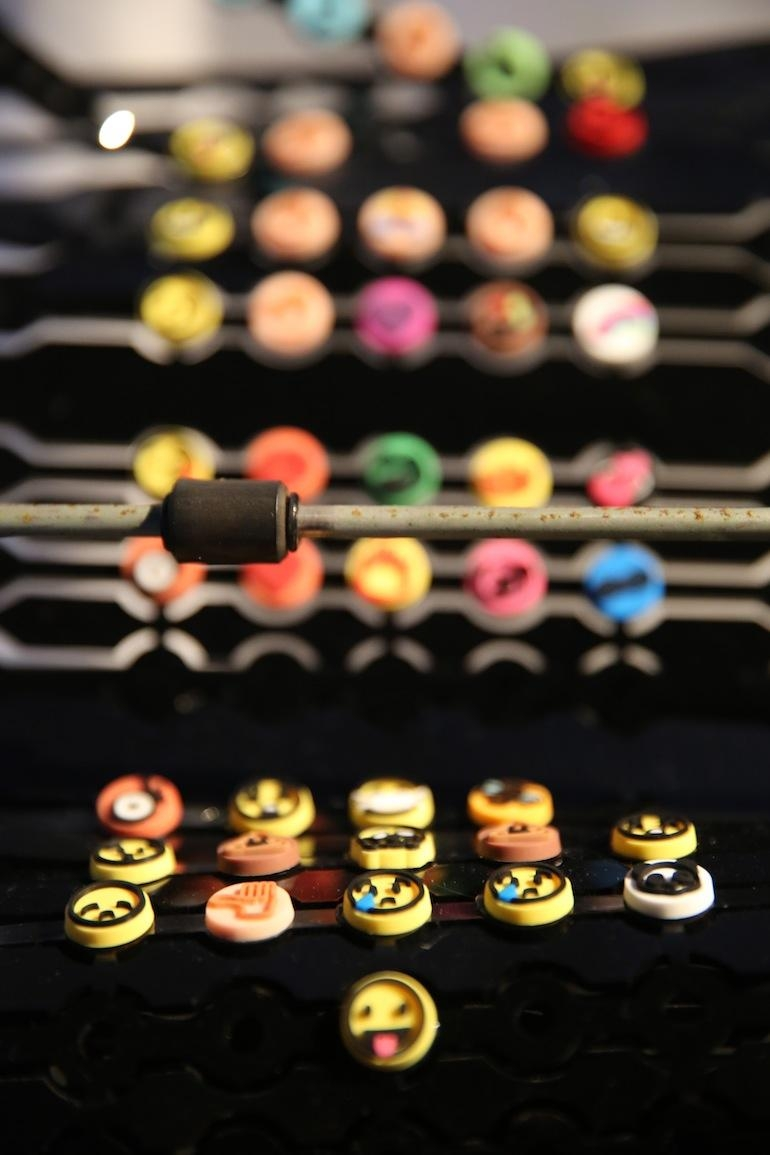 Oak Blog » Off The Wall: Emoji Art & Design Show Inside Emoji Wall Art (Image 15 of 20)