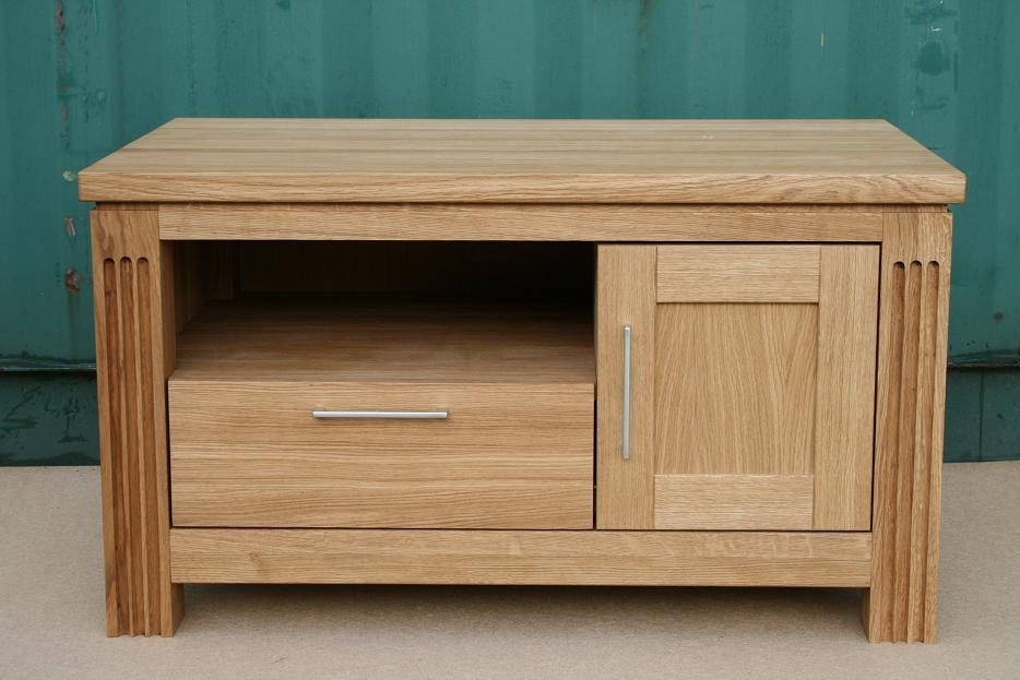 Oak Coffee Table | Solid Oak Coffee Tables | Nest Of Tables Throughout Recent Tv Unit 100Cm Width (View 18 of 20)