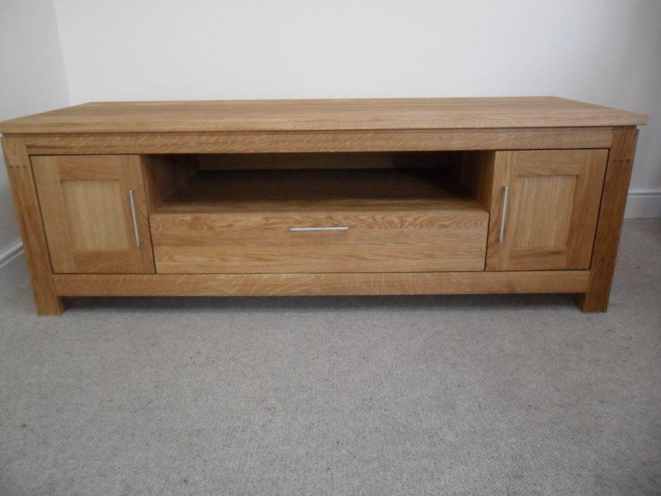 Oak Coffee Table | Solid Oak Coffee Tables | Nest Of Tables Within Most Up To Date Wide Oak Tv Unit (Image 16 of 20)