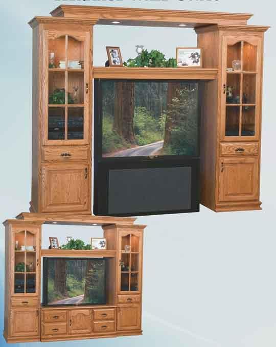 Oak Projection Tv Wall Cabinet   Oak Flat Screen Tv Wall Cabinet Inside Recent Oak Tv Cabinets For Flat Screens (Image 13 of 20)