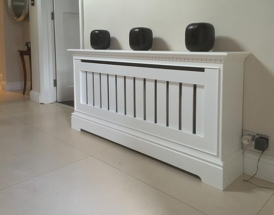Oak Radiator Covers | Oak Radiator Cabinets | Made To Measure Pertaining To Latest Radiator Cover Tv Stands (Image 9 of 20)