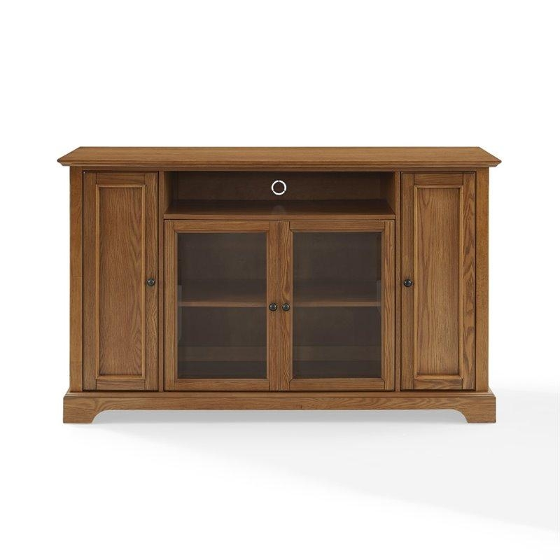 Oak Tv Stands | Cymax Stores In Latest Honey Oak Tv Stands (Image 5 of 20)