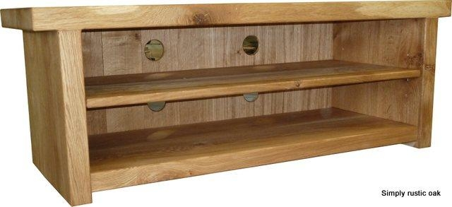 Oak Tv Stands – Home And Decoration With Regard To Most Recent Hardwood Tv Stands (View 5 of 20)