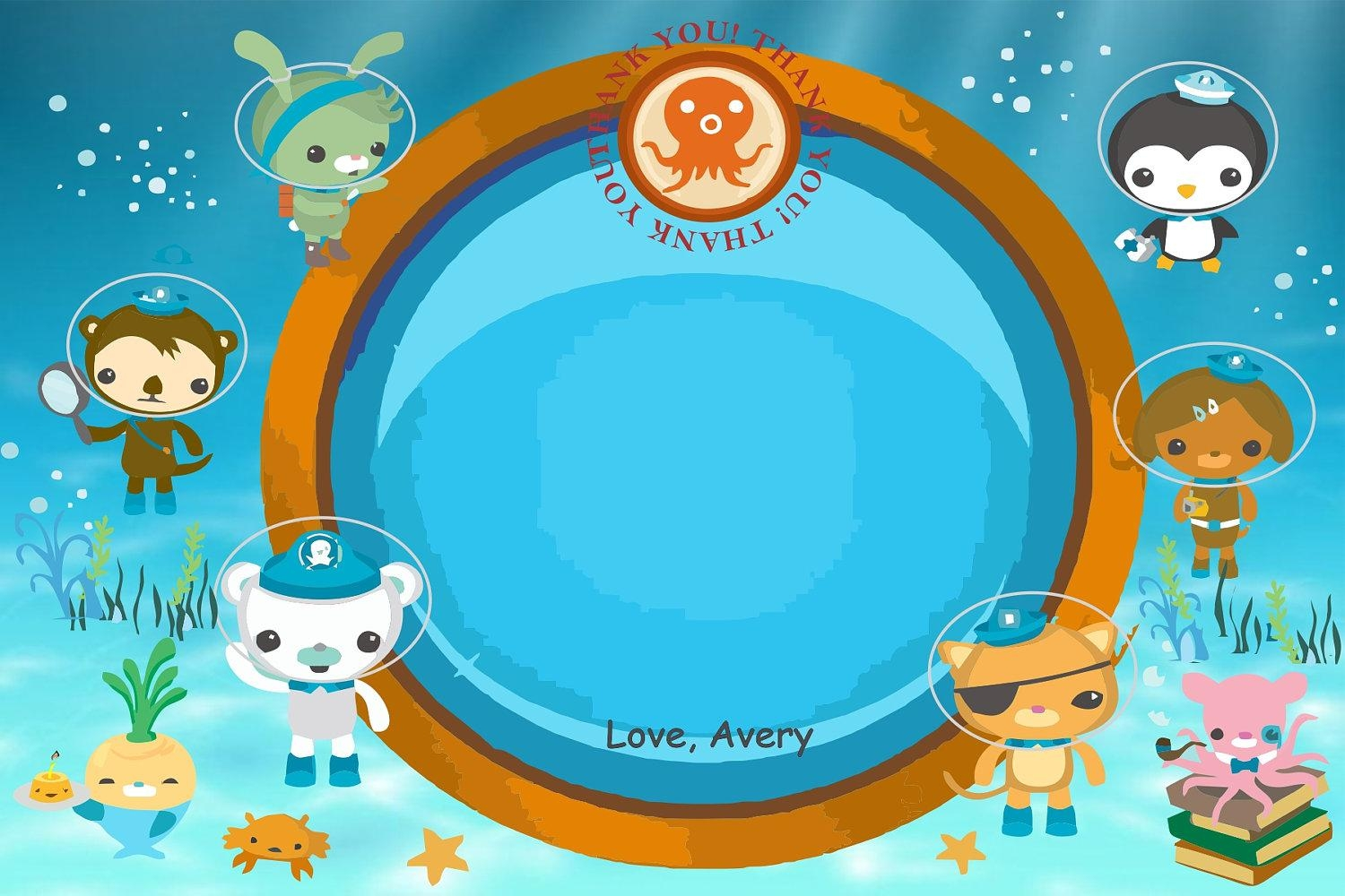 Octonauts Clipart To Print | Octonauts/ Under The Sea | Pinterest Pertaining To Octonauts Wall Art (View 8 of 17)
