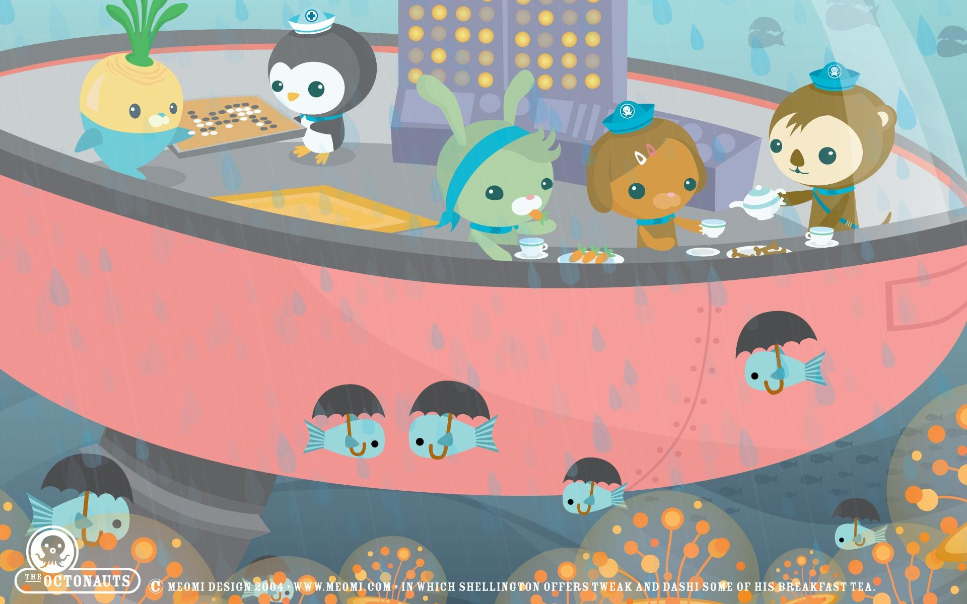 Octonauts Full Hd Wallpaper And Background | 1920X1200 | Id:419619 Inside Octonauts Wall Art (View 3 of 17)
