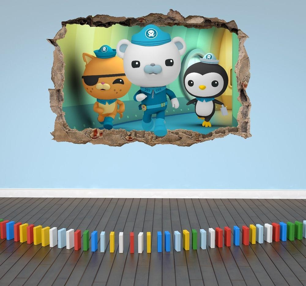 Octonauts Stickers | Ebay Inside Octonauts Wall Art (View 2 of 17)
