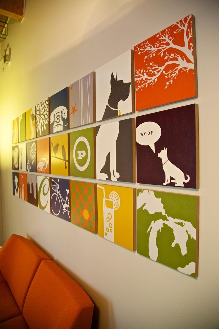 Office Furniture: Office Wall Decoration Design (View 4 of 20)