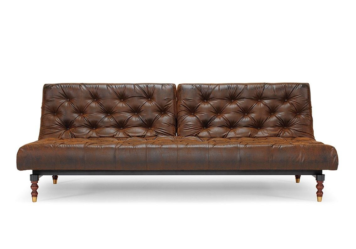 Oldschool Modular Sofa Bed – Original Vintage Sofa Look – Sized 45 For Vintage Leather Sofa Beds (View 3 of 20)