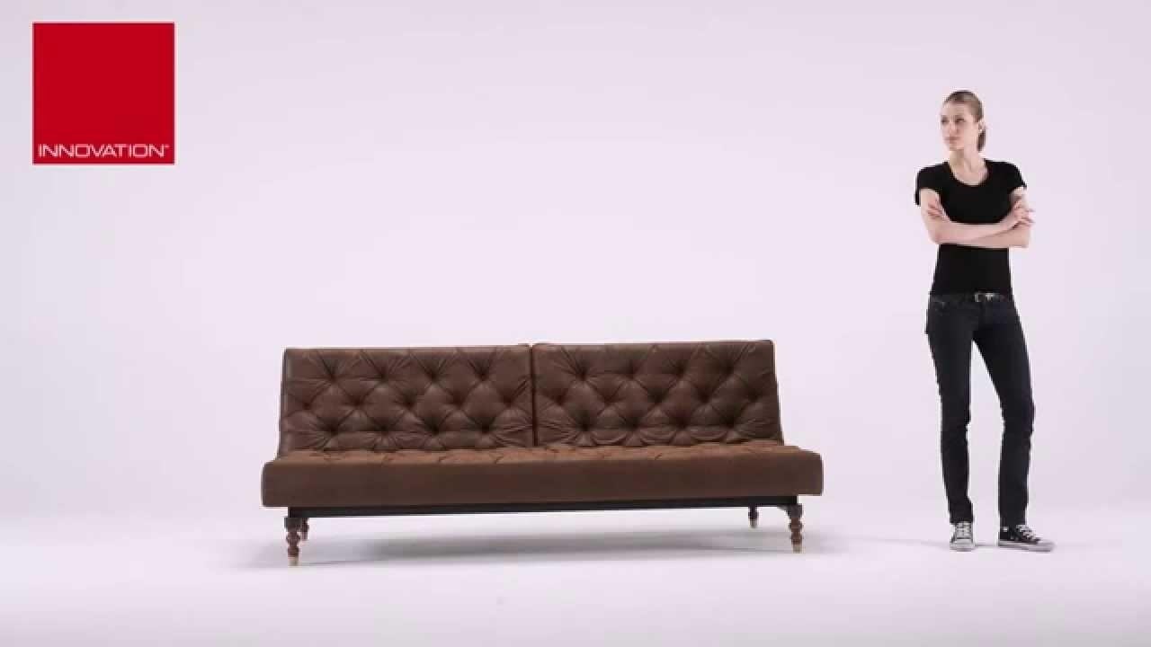 Oldschool Vintage Leather Chesterfield Sleeper Sofa Bed At Zin Throughout Vintage Leather Sofa Beds (Image 12 of 20)