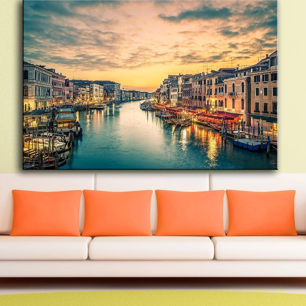 Online Get Cheap Italy Landscape  Aliexpress | Alibaba Group For Italian Scenery Wall Art (Image 10 of 20)