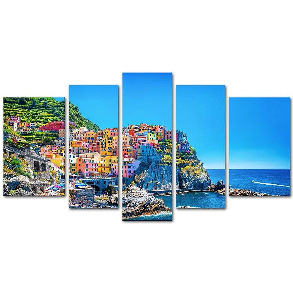Online Get Cheap Italy Landscape Aliexpress | Alibaba Group Intended For Italian Scenery Wall Art (View 6 of 20)