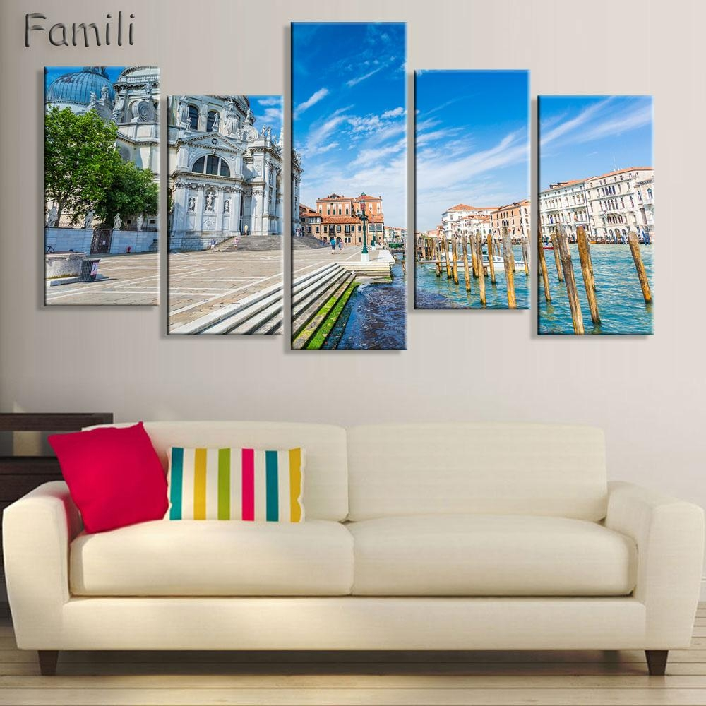 Online Get Cheap Italy Pictures For Wall  Aliexpress | Alibaba Pertaining To Italian Scenery Wall Art (Image 15 of 20)