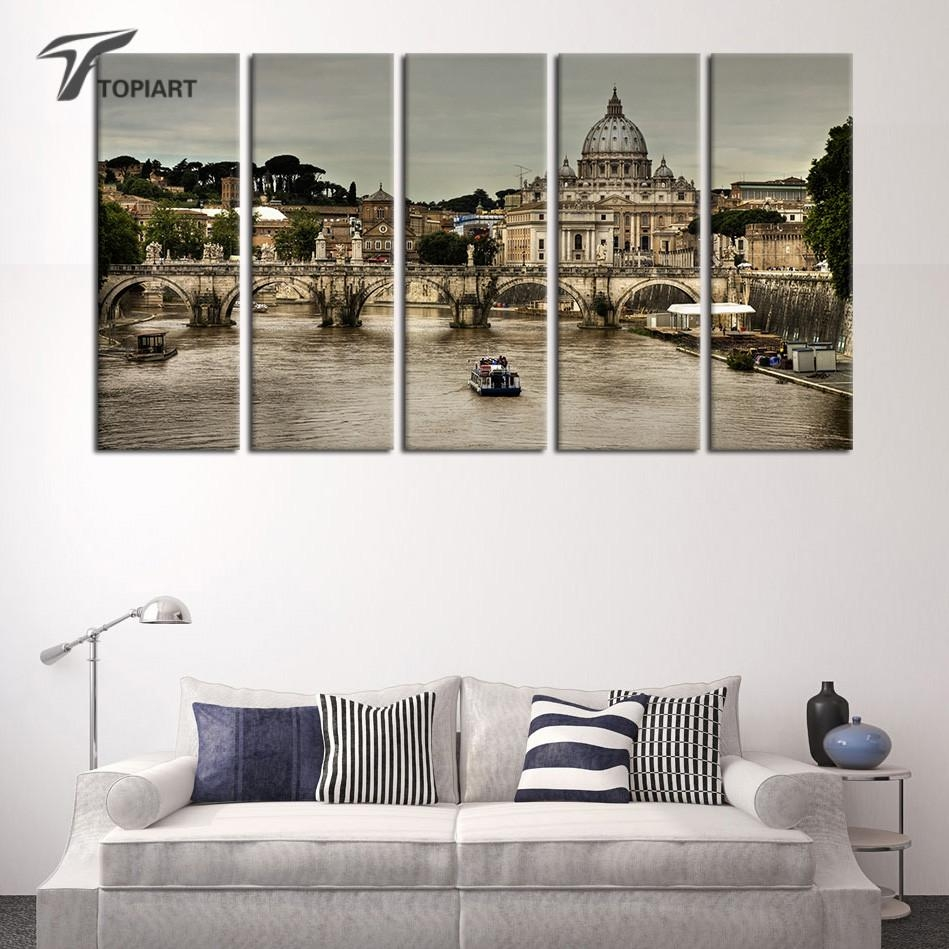 Online Get Cheap Italy Pictures For Wall Aliexpress | Alibaba Regarding Italian Scenery Wall Art (View 7 of 20)