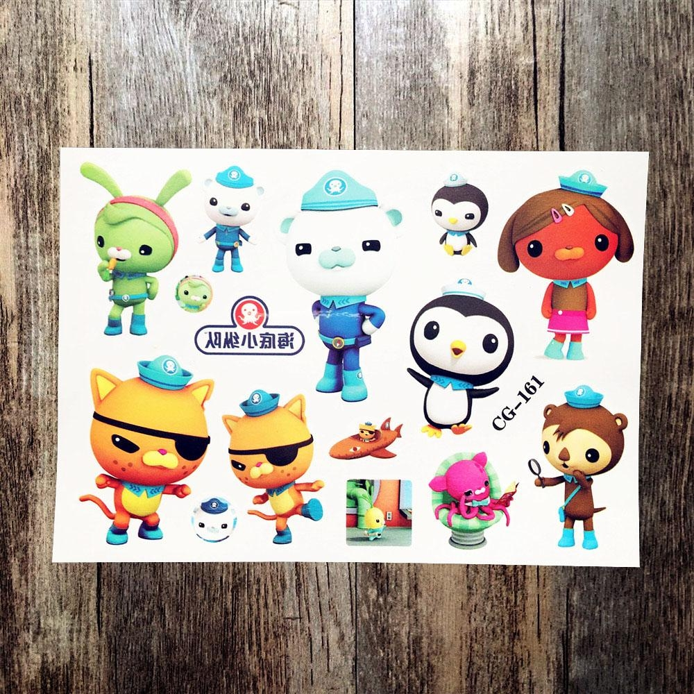 Online Get Cheap Octonauts Stickers Aliexpress | Alibaba Group Inside Octonauts Wall Art (View 5 of 17)