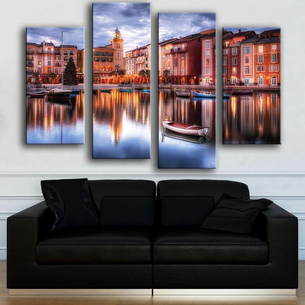 Online Get Cheap Pictures Of Italy For Wall  Aliexpress For Italian Scenery Wall Art (Image 17 of 20)