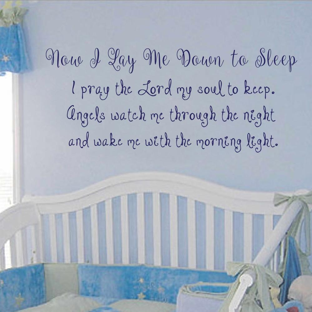 Online Get Cheap Pray Wall Decal Aliexpress | Alibaba Group Inside For This Child I Prayed Wall Art (View 20 of 20)